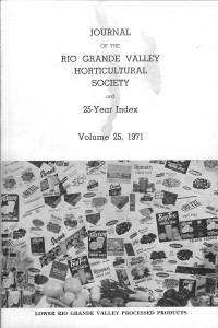 v25 1971 front cover