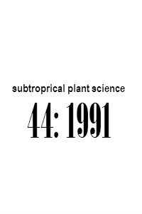 subtropical_plant_science_44_1991_Abstracts