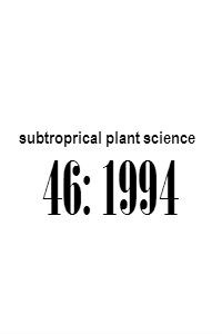 subtropical_plant_science_46_1994_Abstracts
