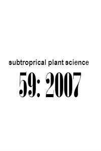 subtropical_plant_science_59_2007_Abstracts