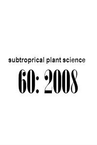 subtropical_plant_science_60_2008_Abstracts