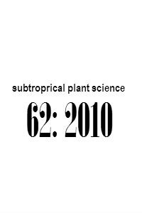 subtropical_plant_science_62_2010_Abstracts
