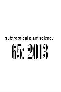 subtropical_plant_science_65_2013_Abstracts